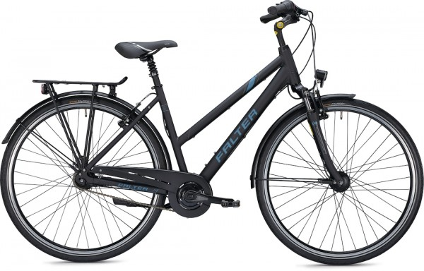 "Falter City/Urbanbike C 4.0 XL (56) 28"" matt schwarz"