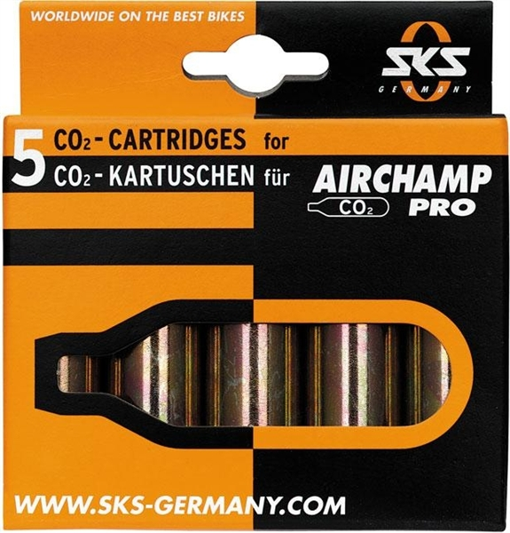 SKS Airchamp Pro CO2 Patronen 5 Stk