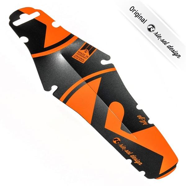 rie:sel design Fender ritze - Mudcatcher rear - Orange