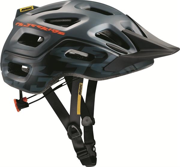 Mavic Helm Crossride grey denim/george orange-x