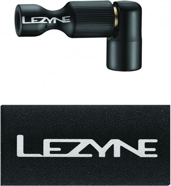 Lezyne CO2 Pumphead Trigger Drive CNC black-glossy