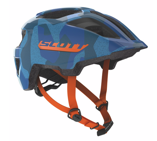 Scott Spunto Junior Helm blue/orange