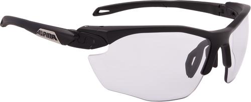 Alpina Brille Twist Five HR VL+ black matt Varioflex+ black