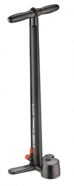 Lezyne Steel Digital Drive Stand Air Pump matte black