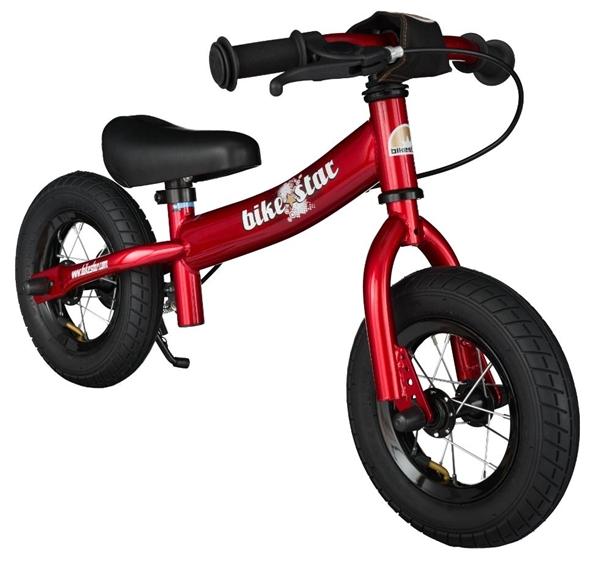 Bikestar Sicherheits-Kinderlaufrad Sport 10 Zoll herzschlag rot