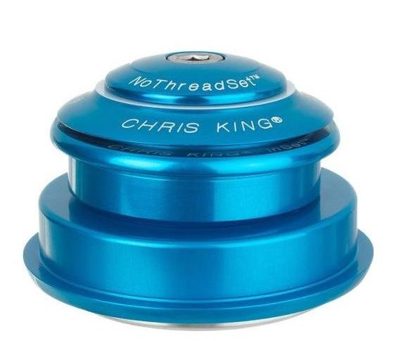 "Chris King InSet 2 Tapered Steuersatz, 1 1/8""- 1.5"" - GripLock - ZS44/28.6 | ZS56/40 türkis"