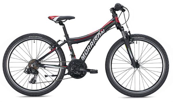 Morrison Mescalero X24 24 inch Diamant black/red Kids Bike