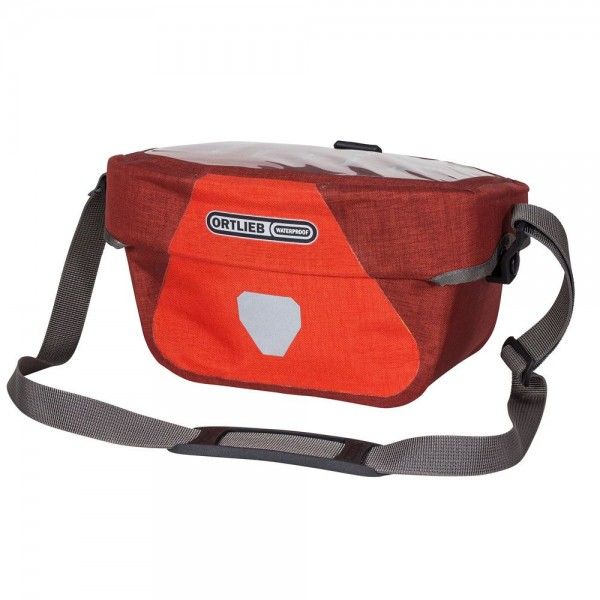 Ortlieb Ultimate Six Plus signal red/ dark chili 5L