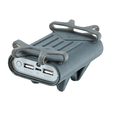"""Topeak Smartphone Holder with Powerpack for 4.5 """"to 5.5"""" display size"""