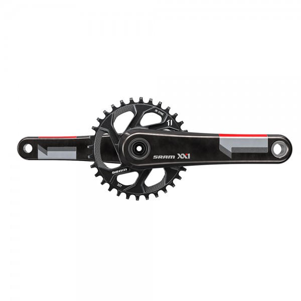 SRAM XX1 Crank red BB30 with 32T directmount chainring