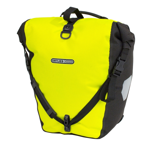 Ortlieb Back-Roller High Visibility QL2.1 neon yellow - black reflective