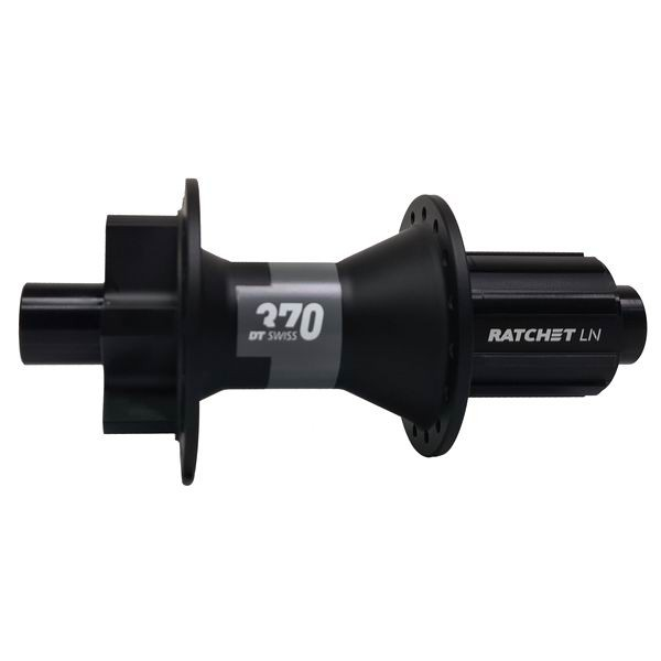 DT 370 Boost IS disc Rear Hub 6-Bolt black