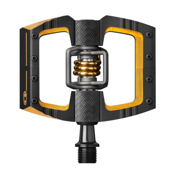 Crank Brothers Mallet DH 11 Pedal - black/gold