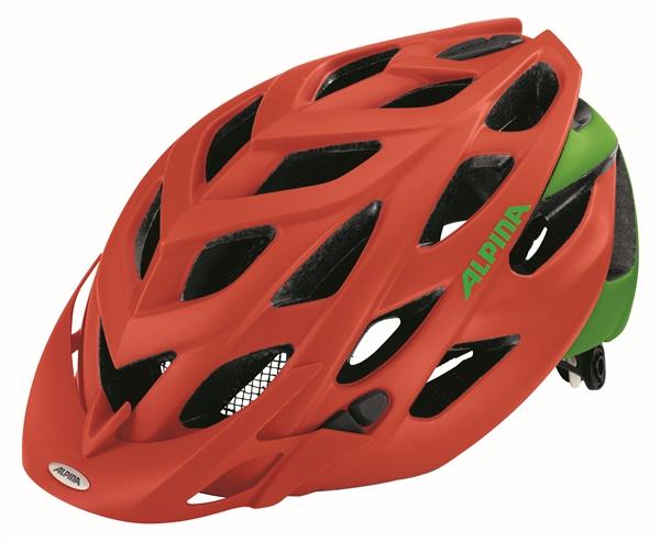 Alpina D-Alto L.E. helmet neon-red green