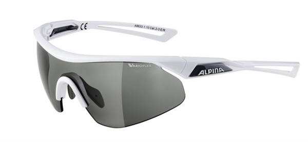 Alpina Brille Nylos Shield VL weiß