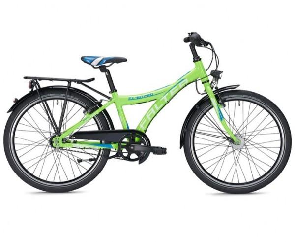 Falter FX 407 Pro 24 inch Y green/blue Kids Bike