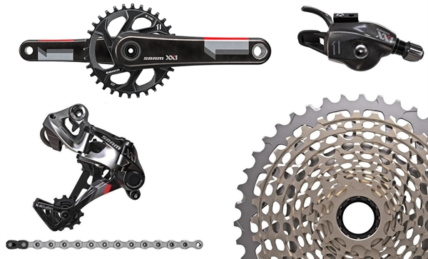 Sram groupset xx1 1x11 speed red gxp buy actionsports sram groupset xx1 1x11 speed red gxp stopboris Image collections