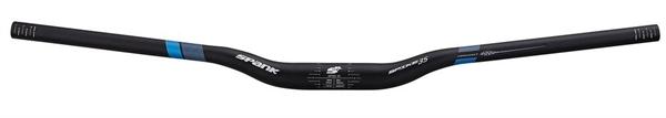Spank Spike 35 Vibro Core XGT Black-Blue Handle Bar