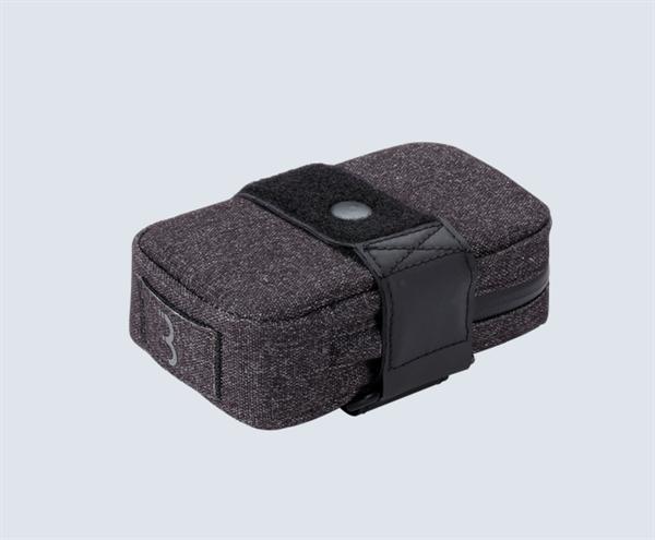 BBB Saddlebag Compacked Size S black