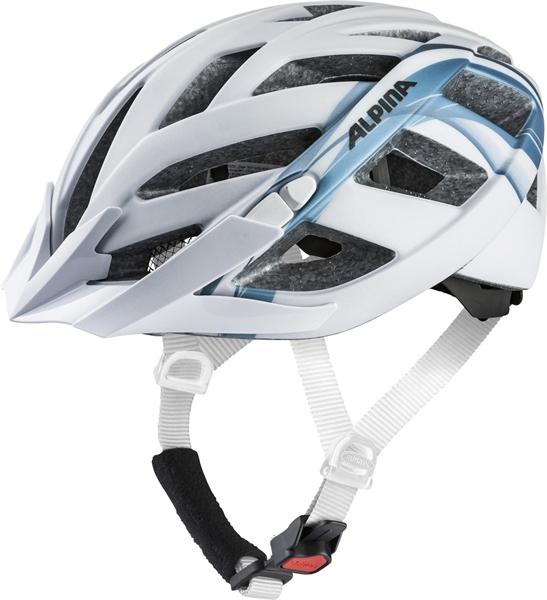 Alpina Panoma 2.0 LE Helm white-blue metallic