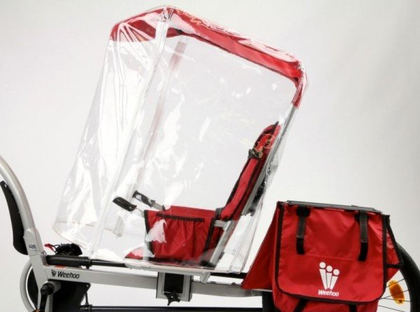 Weehoo all-weather protection for iGo bike trailer