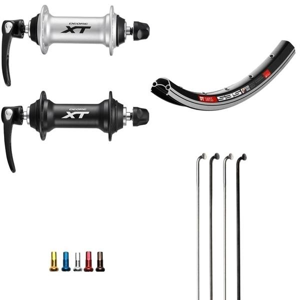 Shimano XT Custom Vorderrad für MTB 26 Zoll