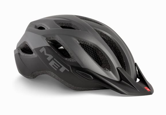 Met Crossover MTB Helm Gray/Black