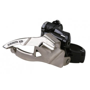 SRAM X0 2x10-speed front derailleur low Clamp, 36/38T Top Pull