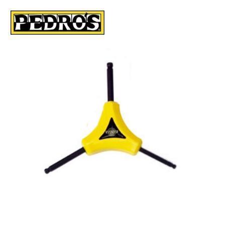 Pedros Y-Wrench - Y-Inbus 4, 5, 6mm mit Kugelkopf