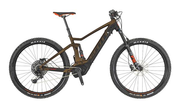 Scott Bike Strike eRide 720 braun 2019