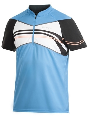Craft Active Bike Loose Fit Jersey blau / schwarz %