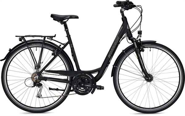 "Morrison Trekkingbike T 2.0 Women Wave 28"" Matt Black 50 cm"