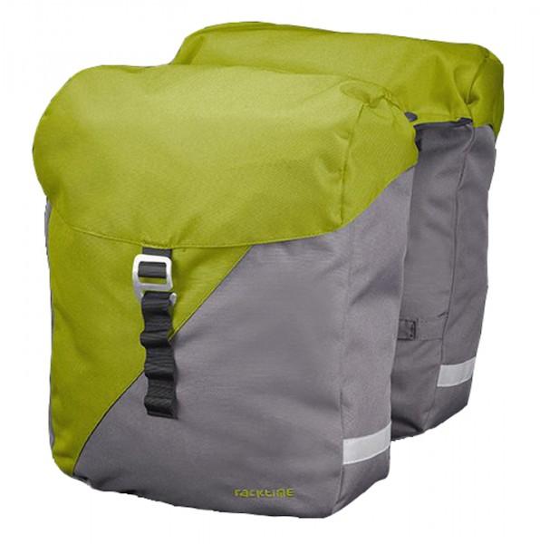 Racktime Double Pack Vida peat bog green / dust grey