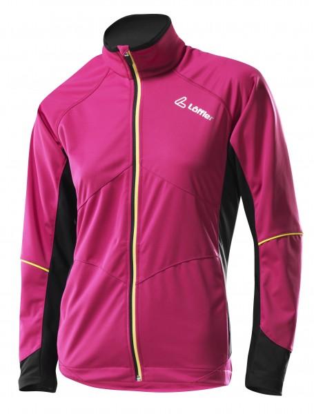 Löffler Women Windstopper Softshell Light Jacke rosa