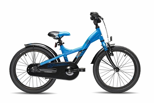 S´COOL XXlite 18 alloy 1-speed blue/black matt