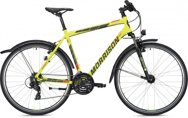 "Morrison Crossbike X 1.0 Men 28"" Yellow Glossy"