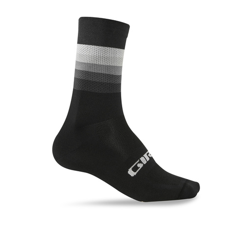 Giro Comp Racer High Rise Socken black heatwave