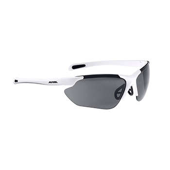 Alpina glasses Jalix white matte-black