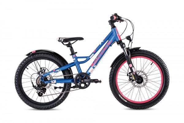 S´COOL faXe 20 Aluminium 7-Gang blue/pink matt