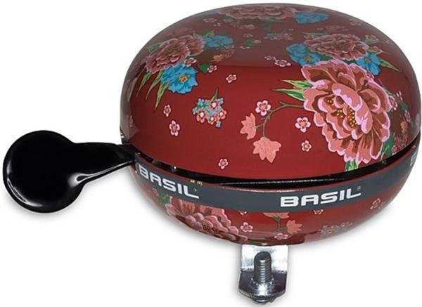 Basil bicycle bell Big Bell Bloom scarlet red