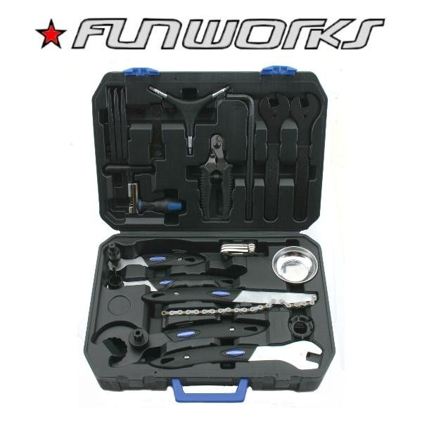 Fun Works Toolbox Profi Werkzeugkoffer