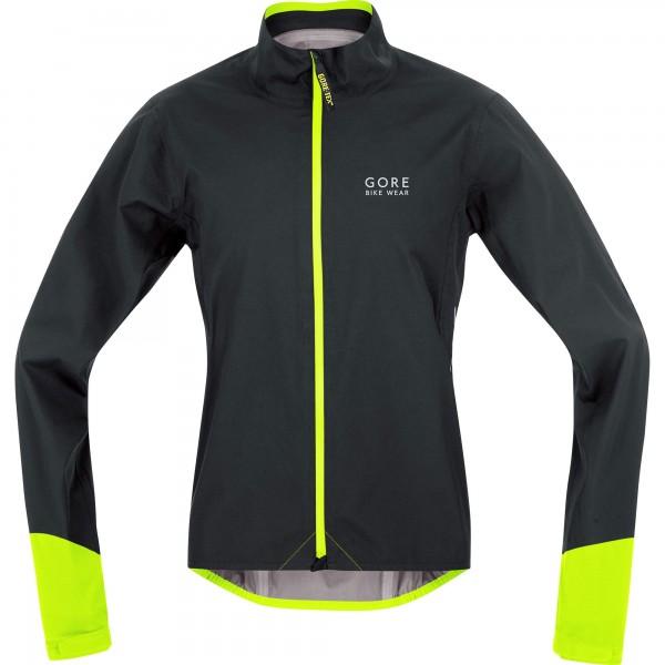 Gore Bike Wear Power GT AS Jacke black/neon yellow