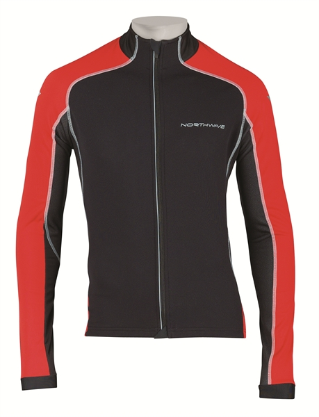 Northwave Mamba Jacket Total Protection black/red Sale