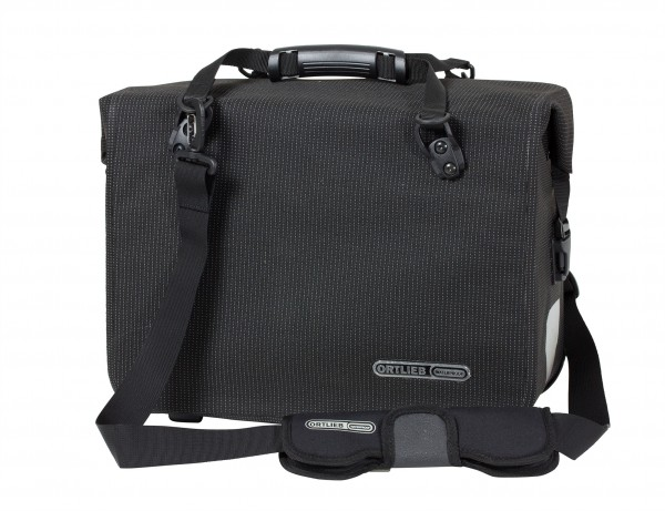 Ortlieb Office-Bag High Visisbility QL3.1 Briefcase 21 L black reflective