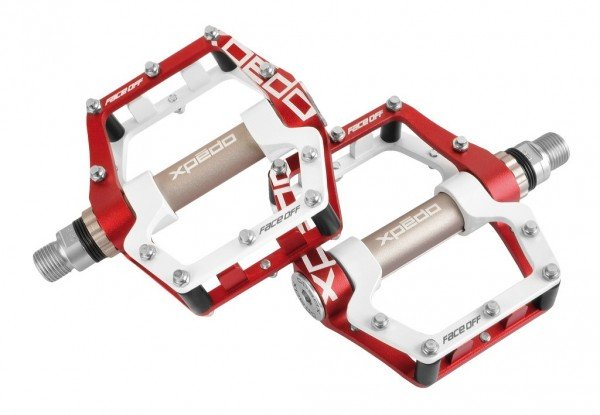 XPEDO Faceoff 18 MTB Pedal white-red