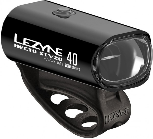 Lezyne LED Hecto Drive 40 StVZO Front Light Black