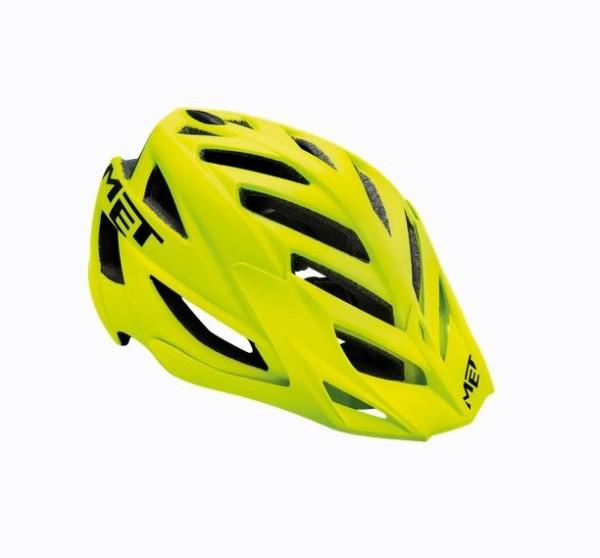 Met Terra MTB Helm Matt Yellow Fluo/Black
