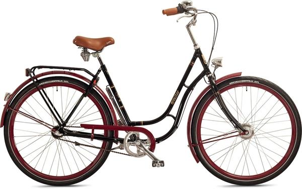"Falter Classic Bike RS 3.0 28"" glänzend schwarz"
