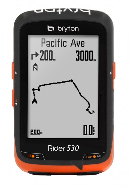 Bryton Rider 530 H GPS Bike Computer Black