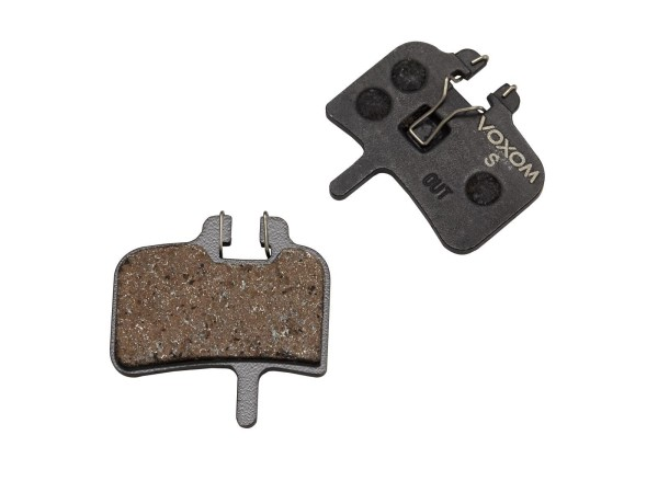 Voxom Disc Brake Pads Bsc9 standard - Hayes HFX-Mag/HFX-9 HYD/MX-1 mechanisch, Promax/Imperial DX04